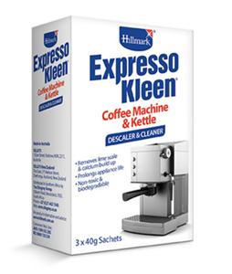 Hillmark Expressokleen Coffee Machine & Kettle Descaler & Cleaner