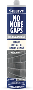 No More Gaps Bricks And Mortar MEDIUM GREY