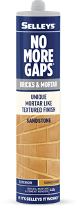 No More Gaps Bricks And Mortar SANDSTONE
