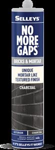 No More Gaps Bricks And Mortar CHARCOAL