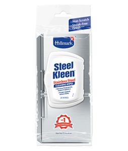 Hillmark Steel Kleen Stainless Steel Cleaning Wipes